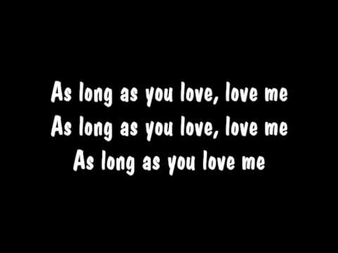 As long as you love me   Sam Tsui Lyrics