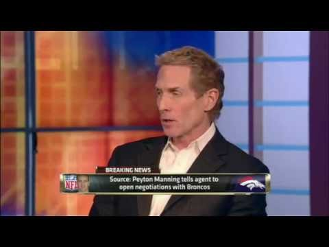 BRONCOS SIGN PEYTON MANNING! - First take discussion- Skip B