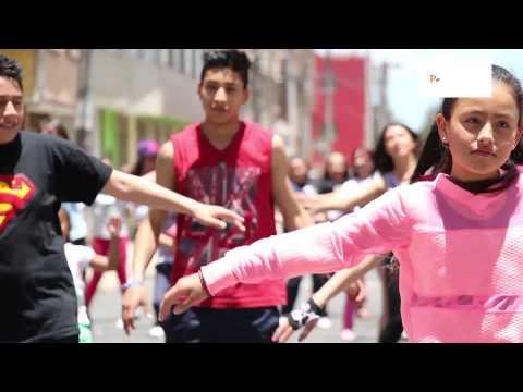 Baile por la paz  Suba, Bogota - Colombia