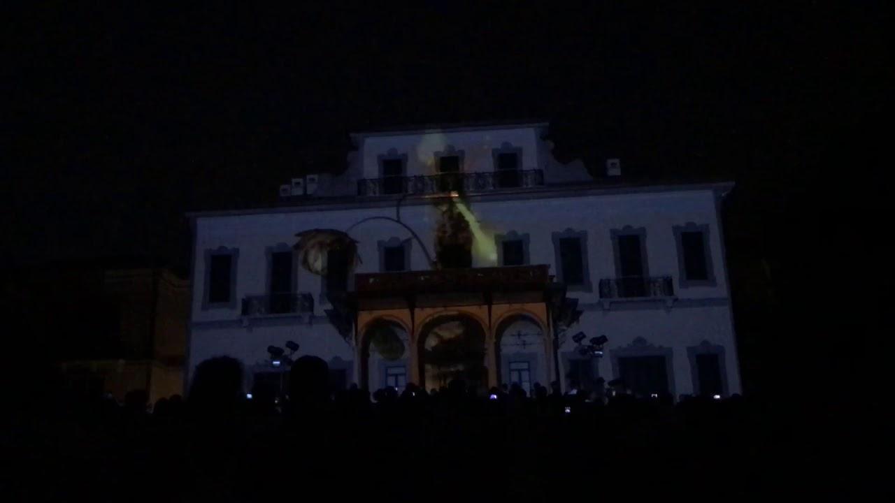 Videomapping celebrazioni restauro villa borromeo dadda arcore 26