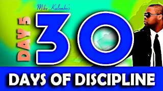 30 Days of Discipline - Day 5  DUBSTEP @mikekalombo