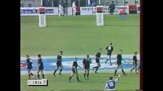 FRANCE - NOUVELLE ZELANDE RUGBY TEST MATCH 1995