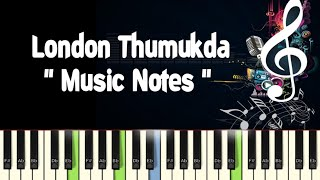 London Thumakda /Queen /Piano Notes /Midi Files /Karaoke