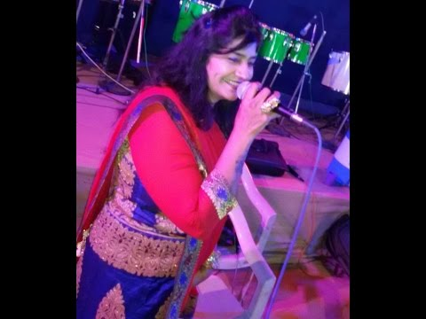 Live gujarati garba song - Navratri 2015 - Rita Dave - Part - 4  ( Dual Voice Singer )