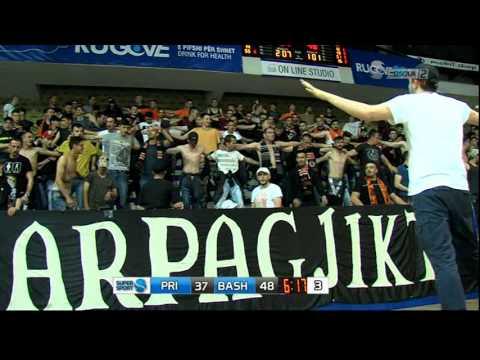 Kosovo Superliga Finals Game 1 Sigal Pristina Vs. KB Bashkimi 2017 Second Half