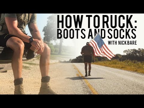 HOW TO RUCK; WHAT BOOTS AND SOCKS
