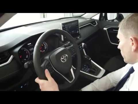 Все кнопки управления Toyota RAV4 2.0 CVT 4WD Комфорт 2020г. Инструктаж в салоне. Мнение владельца