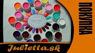 Цветные краски для ногтей. Color Gel. 36 штук. Часть - 1 (Aliexpress)