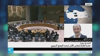 المعارض السوري أحمد التيناوي يشن هجوما لاذعا على دي مستورا وبشار الجعفري