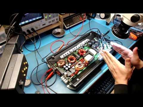 JBL GTO14001 CLASS D AMPLIFIER REPAIR.