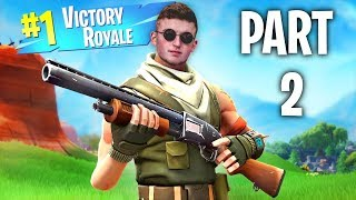 Getting The EPIC VICTORY ROYALE In Fortnite (PART 2)