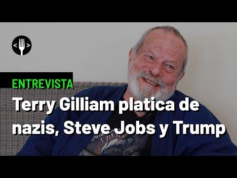 Terry Gilliam platica de nazis, Steve Jobs y Trump