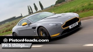 5 things to do with... An Aston Martin V12 Vantage S manual | PistonHeads