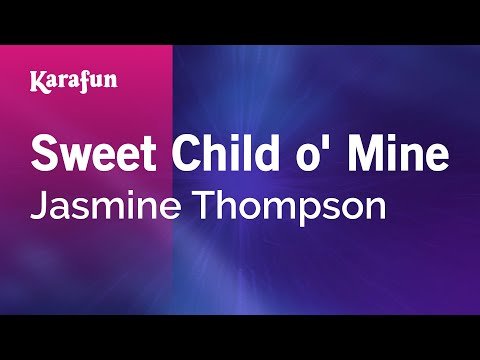 Karaoke Sweet Child o' Mine - Jasmine Thompson *