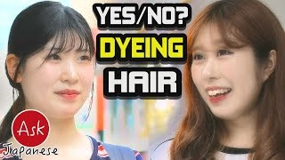 Black VS Blonde: Are Japanese ok with dyeing their hair?
