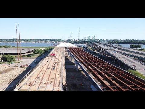 I74 Bridge Construction Progress Update #4