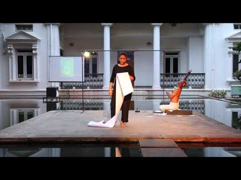 SEEMA KOHLI'S PERFORMANCE AT NGMA, BANGALORE  SUPPORTED BY GALLERY VEDA