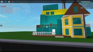 Hello neighbor in ROBLOX // gameplay.