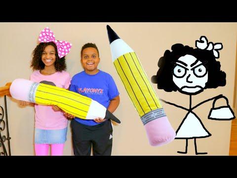 DOODLE SHASHA vs Shasha and Shiloh! - Onyx Kids