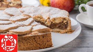Яблочный пирог, это всегда Очень Вкусно! Много Сочной начинки!