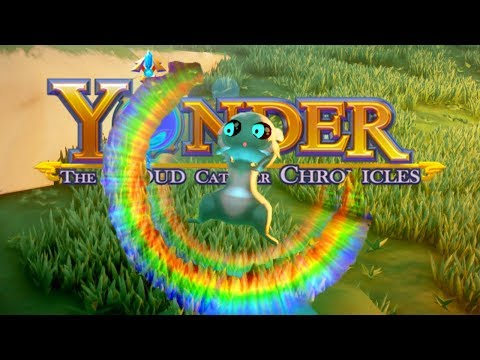 A Sprite at Twilight! - Yonder The Cloud Catcher Chronicles Part 18 Gameplay