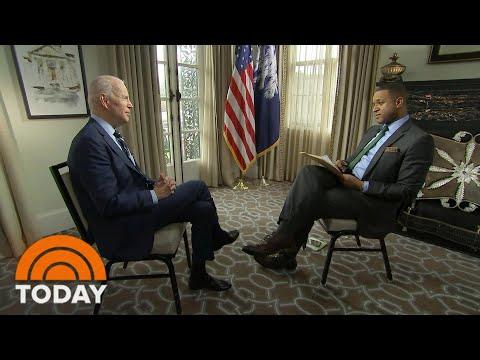 Watch Joe Biden's Full Interview With Craig Melvin | TODAY