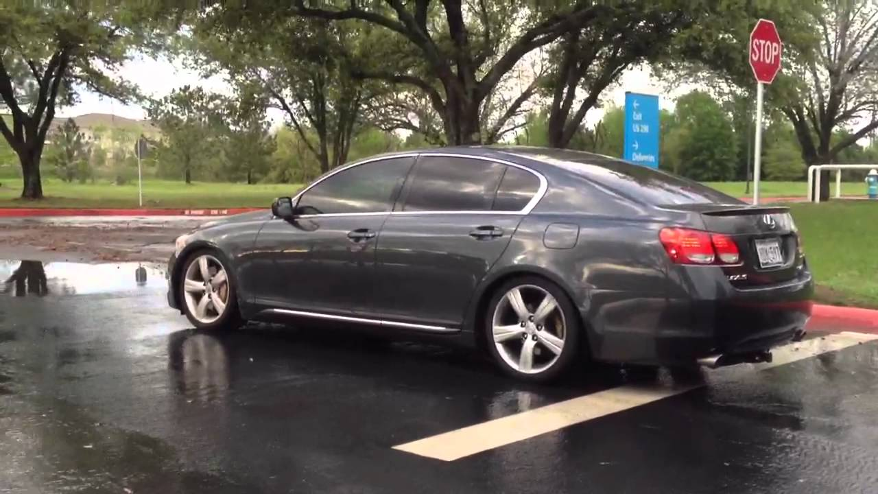 video of recently dropped gs430 - youtube