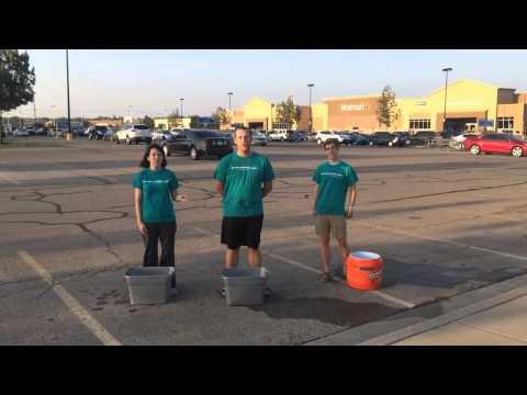 Central National Bank - Lawrence Walmart - ALS Ice Bucket Challenge