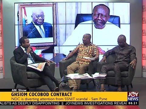 GHS10M COCOBOD Contract - AM Talk on JoyNews (6-9-17)