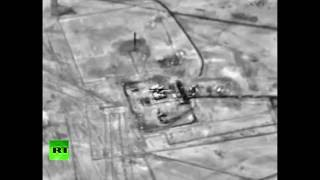 Российские бомбардировщики уничтожили объекты террористов ИГ