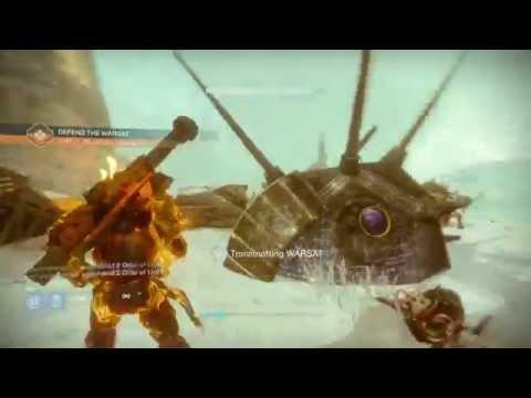 Destiny: Rise Of Iron - The Archon's Keep - Warsat Public Event (15 Marks & Legendary Engram Reward)