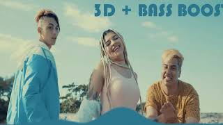 Khea Ft. Duki & Cazzu - Loca |HD|✔✔ [3D + BASS BOOST]