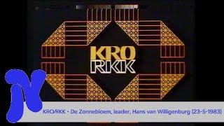 KRO - De Zonnebloem, KRO/RKK leader en aankondiging Hans van Willigenburg (23-5-1983)