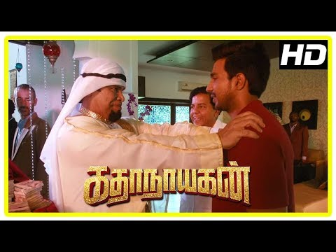 Katha Nayagan Movie Scenes | Vishnu To Donate His Kidney To Anandaraj | Catherine