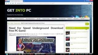 Download Full version Need for speed underground ISO