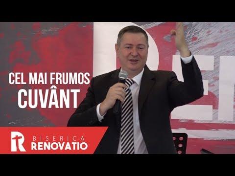 Florin Ianovici - Cel mai frumos cuvânt | MISIUNEA RENOVATIO