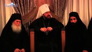 Митрополит Волоколамский Иларион в монастыре Ватопед Часть 1(, 2014-03-11T17:41:59.000Z)