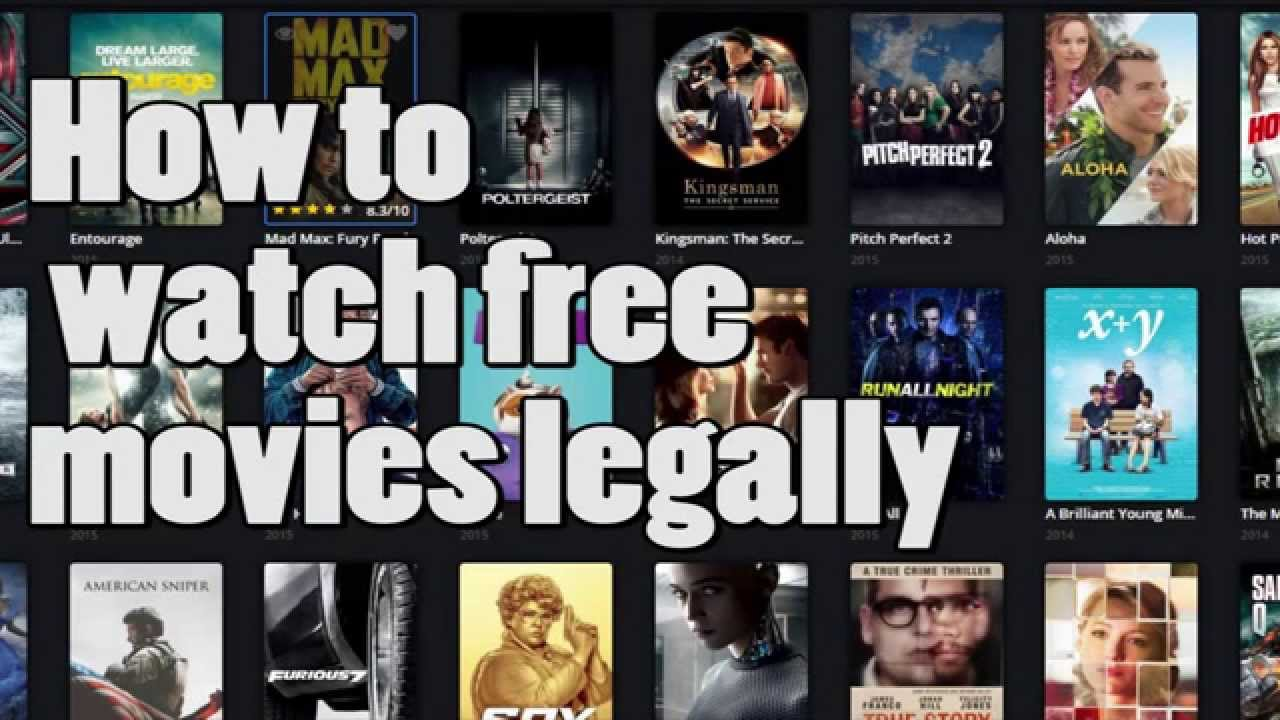 How to watch movies for FREE legally - 2015 ( No torrent needed) - YouTube