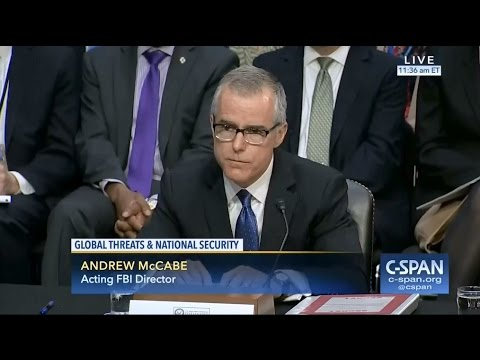 Acting FBI director McCabe debunks reports Comey sought additional funding for Russia investigation