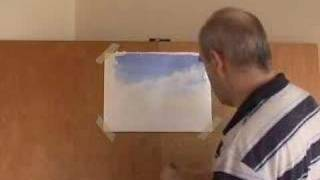 Painting Watercolour Clouds