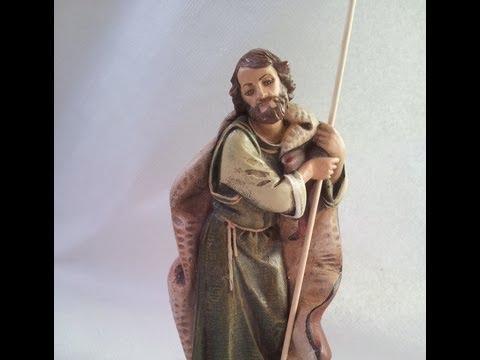 9ae6b310e2f 2º COMO PINTAR UN SAN JOSE PARA EL PESEBRE CON FINAL BUENO - HOW TO PAINT A  ST. JOSEPH TO THE MANGER