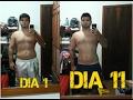 Emagreci muito em apenas 10 dias , Antes e Depois .