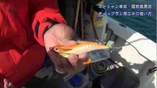 和歌山県串本でエギング船&カセを営むオーシャン串本の蔵前敦男船頭が...