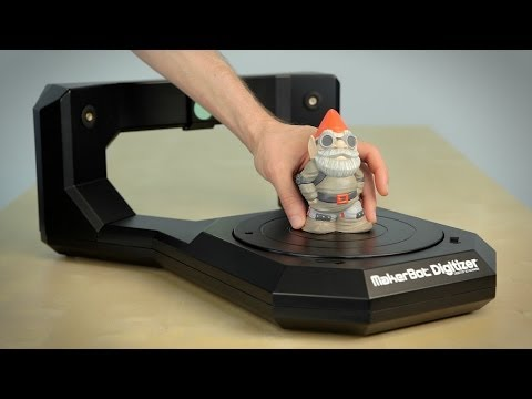 Getting Started with the MakerBot® Digitizer™ Desktop 3D Scanner