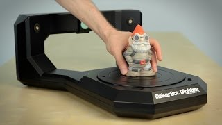 getting started with the makerbot digitizer desktop 3d scanner