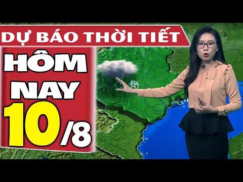 Dự báo thời tiết hôm nay mới nhất ngày 10/8/2021   Dự báo thời tiết 3 ngày tới