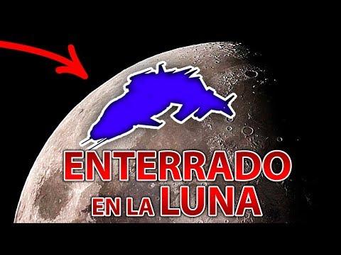 Encuentran Gigantesca Estructura Metálica Enterrada En La Luna