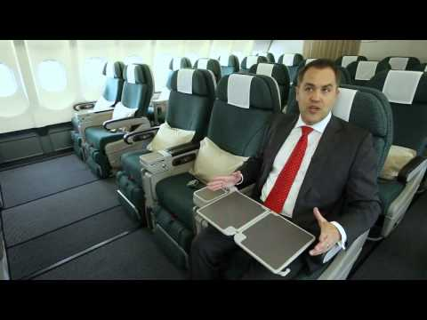 Cathay Pacific Airlines Premium Economy Class