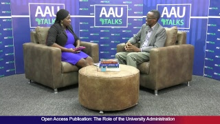 AAU Talks: Open Access Publication - The Role of University Administration