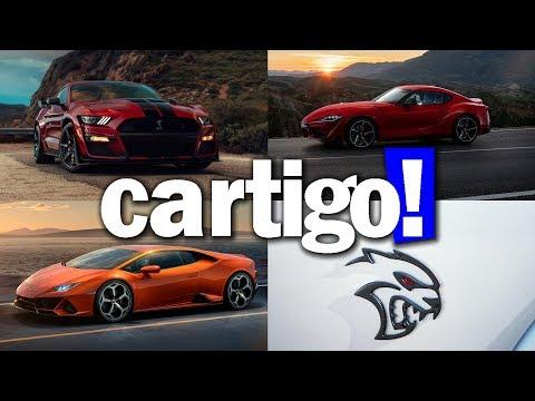 Cartigo! #49 - FORD SHELBY GT500, TOYOTA SUPRA E LAMBORGHINI HURACÁN EVO | ApC